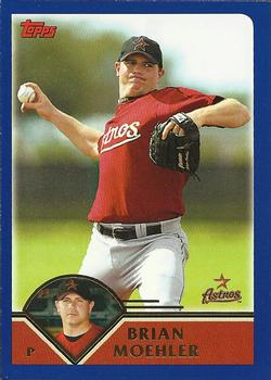 2003 Topps #540 Brian Moehler Front