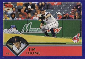 2003 Topps #71 Jim Thome Front