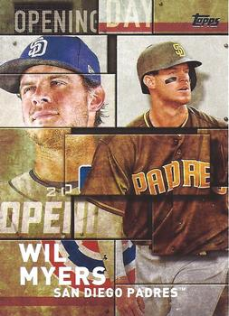 a12073b0919 2018 Topps - MLB Opening Day  OD-7 Wil Myers