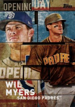 dc370c1fef5 2018 Topps - MLB Opening Day Blue  OD-7 Wil Myers
