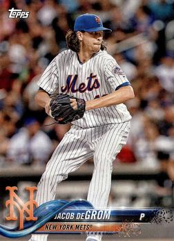 2018 Topps New York Mets #NM-12 Jacob deGrom Front