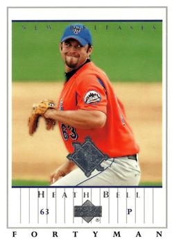 2003 Upper Deck 40-Man #936 Heath Bell Front