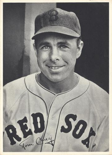 1940 Boston Red Sox Picture Pack #NNO Tom Carey Front