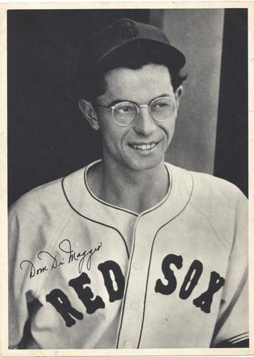 1940 Boston Red Sox Picture Pack #NNO Dom DiMaggio Front