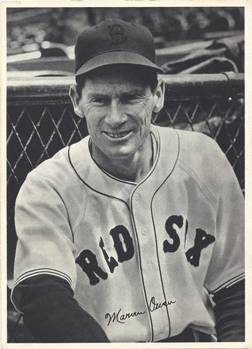 1940 Boston Red Sox Picture Pack #NNO Marv Owen Front