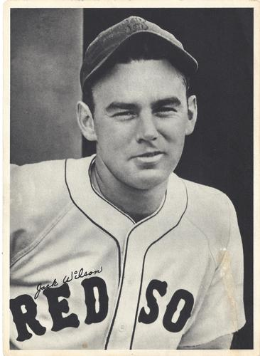 1940 Boston Red Sox Picture Pack #NNO Jack Wilson Front
