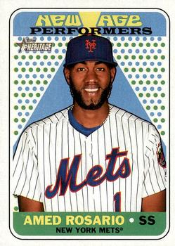 2018 Topps Heritage - New Age Performers #NAP-23 Amed Rosario Front