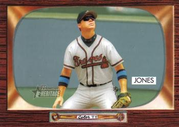 2004 Bowman Heritage #71 Chipper Jones Front