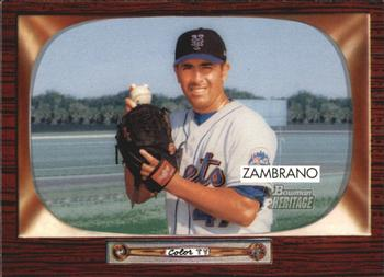 2004 Bowman Heritage #79 Victor Zambrano Front