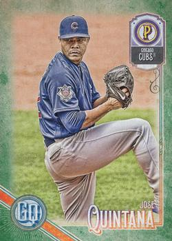 2018 Topps Gypsy Queen - Green #70 Jose Quintana Front