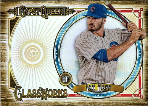 2018 Topps Gypsy Queen - GQ GlassWorks Box Toppers #GW-IH Ian Happ Front