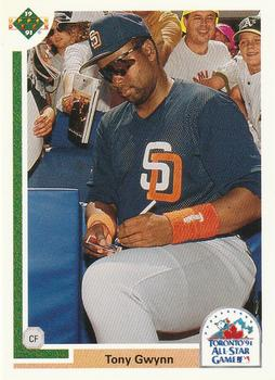 1991 Upper Deck Final Edition #97F Tony Gwynn Front