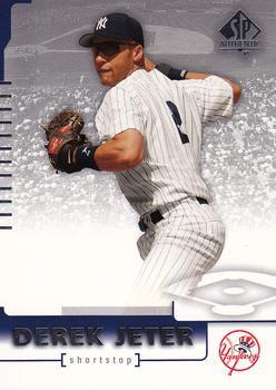 2005 Upper Deck Baseball Heroes #93 Derek Jeter New York Yankees Card
