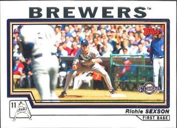 2004 Topps #29 Richie Sexson Front
