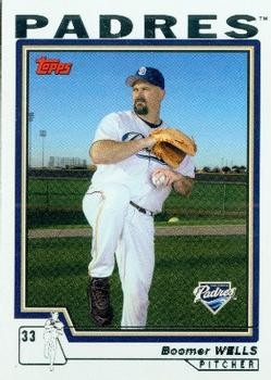 2004 Topps #491 David Wells Front