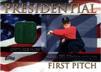 BILL CLINTON PRESIDENTIAL FIRST BALL BASEBALL CARD