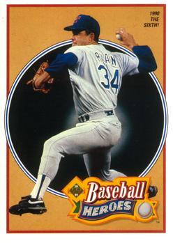 1991 Upper Deck - Baseball Heroes: Nolan Ryan #16 Nolan Ryan Front