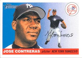 2004 Topps Heritage #53 Jose Contreras Front