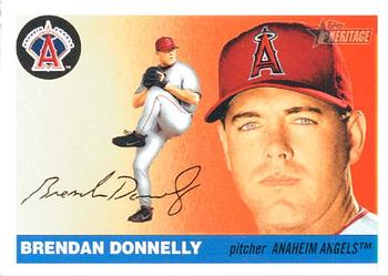2004 Topps Heritage #55 Brendan Donnelly Front