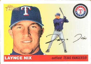 2004 Topps Heritage #58 Laynce Nix Front