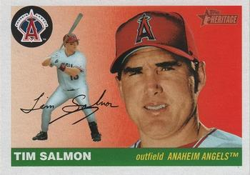 2004 Topps Heritage #67 Tim Salmon Front
