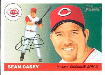 2004 Topps Heritage #464 Sean Casey Front