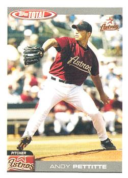 2004 Topps Total #208 Andy Pettitte Front