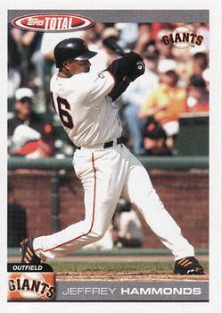 2004 Topps Total #429 Jeffrey Hammonds Front