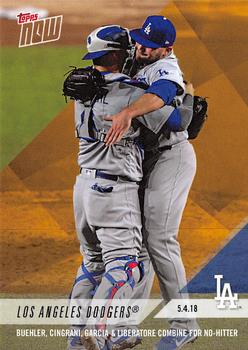 067ea46f44f 2018 Topps Now Road to Opening Day Bonus  ODB-10 Los Angeles Dodgers Front