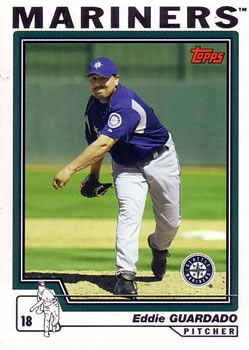 2004 Topps Traded & Rookies #T23 Eddie Guardado Front
