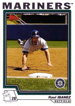 2004 Topps Traded & Rookies #T42 Raul Ibanez Front