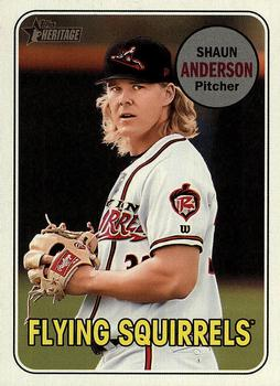 2018 Topps Heritage Minor League #176 Shaun Anderson Front
