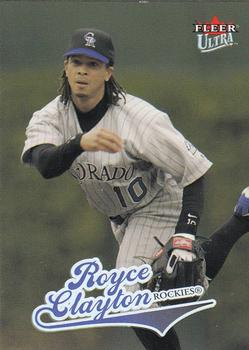 2004 Ultra #265 Royce Clayton Front