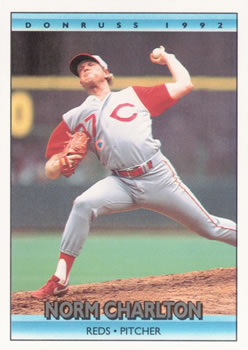 1992 Donruss #102 Norm Charlton Front