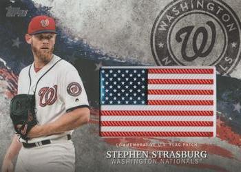 2018 Topps Archives #134 Stephen Strasburg Washington Nationals MLB Baseball Trading Card