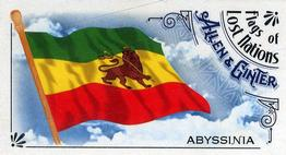 2018 Topps Allen & Ginter - Mini Flags of Lost Nations #FLN-14 Abyssinia Front