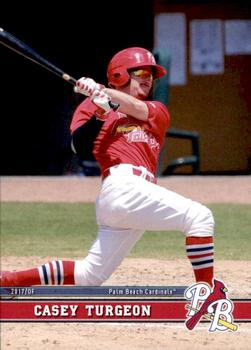 2017 Topps Heritage Minor League Edition #18 Ryan Helsley Palm Beach Cardinals Verzamelkaarten, ruilkaarten Honkbal