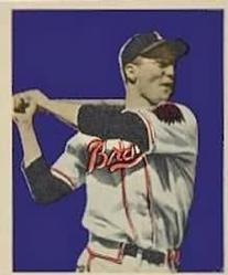 1949 Bowman #17 Earl Torgeson Front
