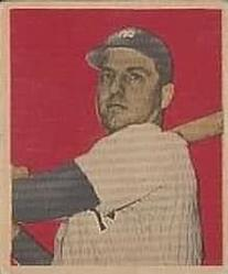 1949 Bowman #69 Tommy Henrich Front