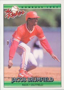 1992 Donruss Rookies #19 Jacob Brumfield Front