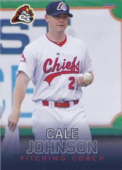 2018 Choice Peoria Chiefs #29 Cale Johnson Front