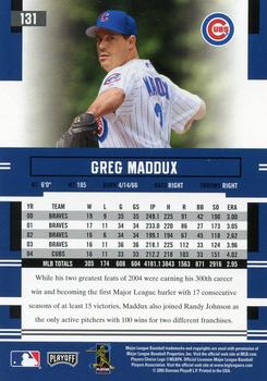 2005 Topps Chrome #155 Greg Maddux Chicago Cubs Baseball Card Verzamelkaarten: sport