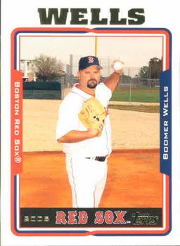 2005 Topps #484 David Wells Front