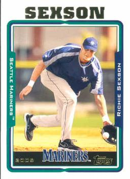 2005 Topps #497 Richie Sexson Front