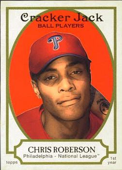 2005 Topps Cracker Jack #209 Chris Roberson Front