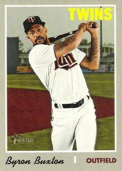 2019 Topps Heritage #539 Byron Buxton Front