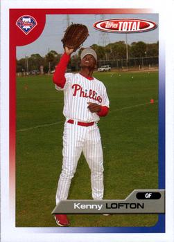 2005 Topps Total #8 Kenny Lofton Front