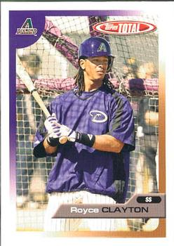 2005 Topps Total #342 Royce Clayton Front