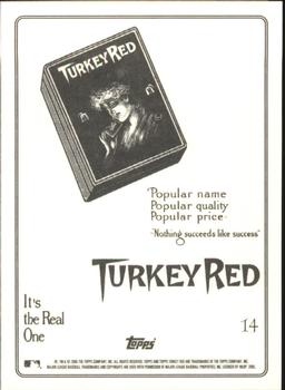2005 Topps Turkey Red #14 Red Dooin Back