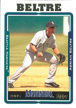 2005 Topps Updates & Highlights #UH25 Adrian Beltre Front